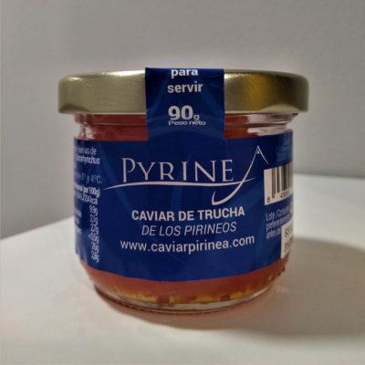 Caviar, mousse, conservas y ahumados del Pirineo