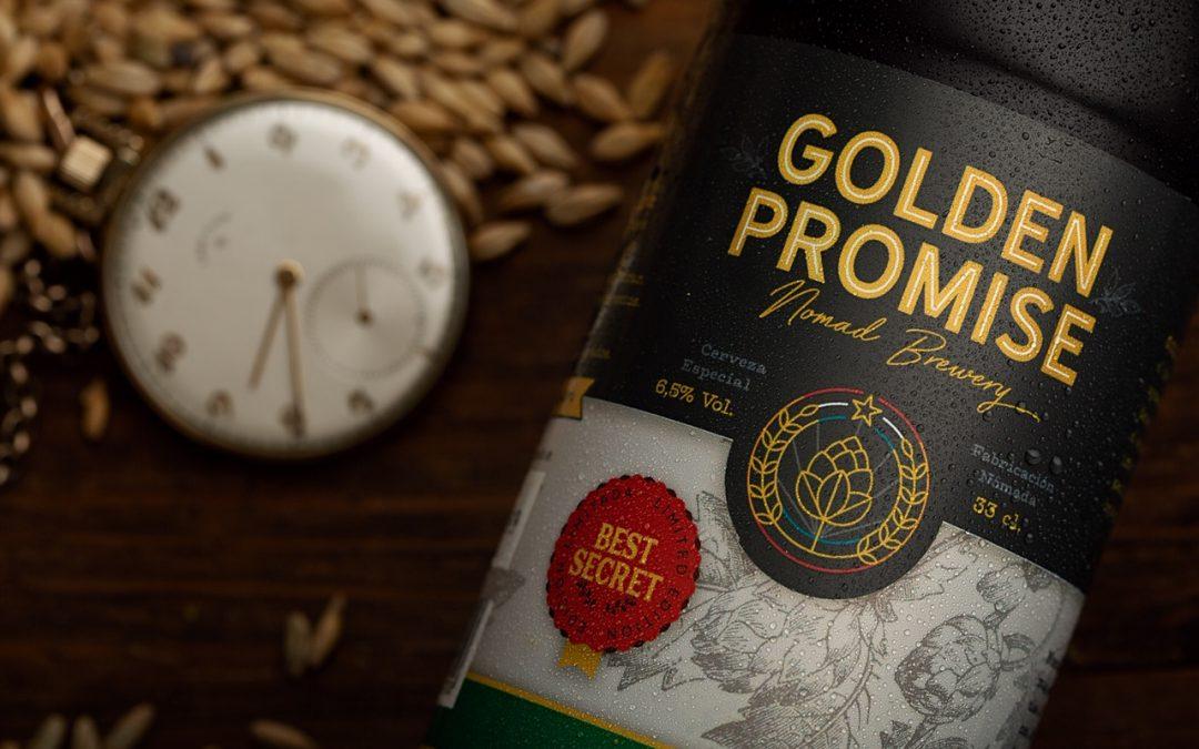 Cata de cervezas Golden Promise con Queso D'Estrabilla