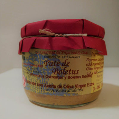 Conservera del Prepirineo Paté de Boletus
