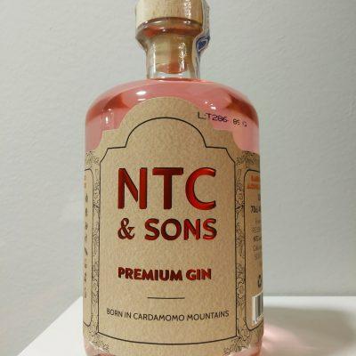 Ginebras NTC&Sons con alcohol ecológico