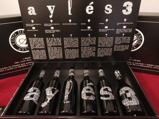 """Caja especial 6 botellas """"Pago Aylés"""""""