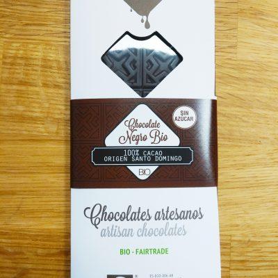 Chocolate negro bio 100%