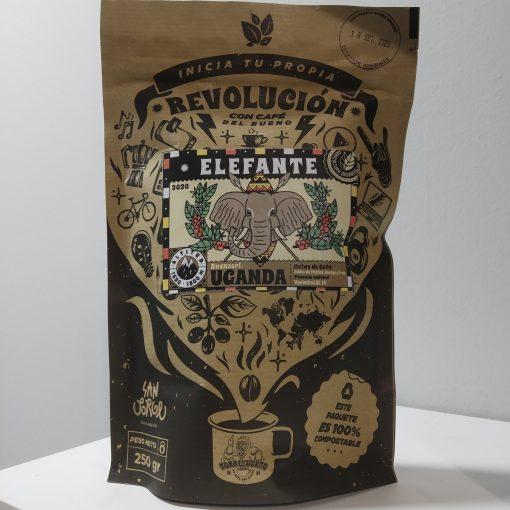 Café San Jorge Elefante de Uganda Orgánico